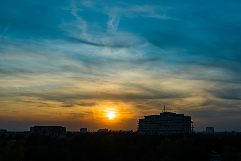 Sunset, Sky, Clouds, Landscape, Evening, Twilight