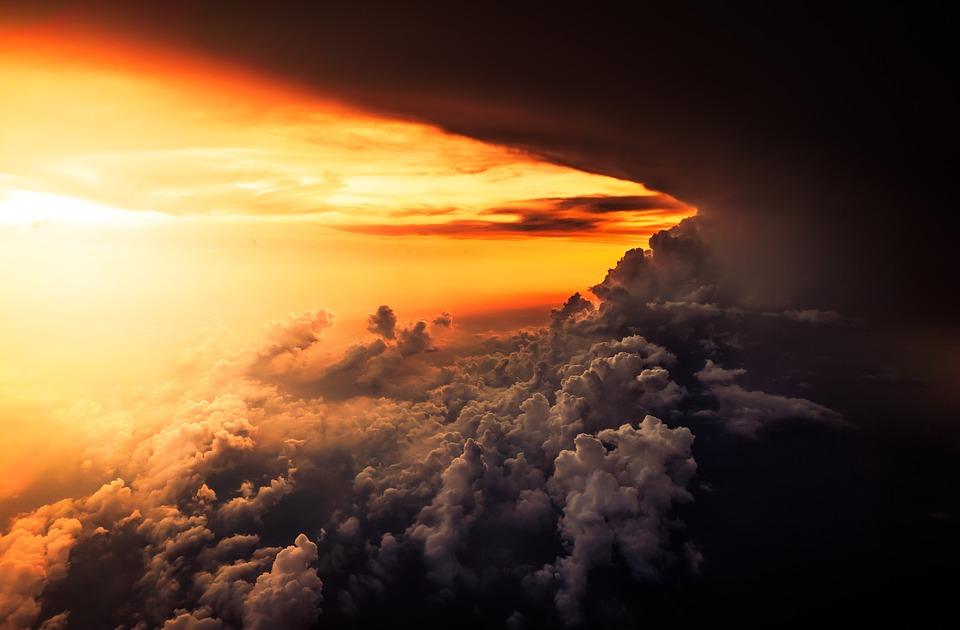Clouds, Sunset, Sky, Cloudy, Cloudy Sky, Dusk, Twilight