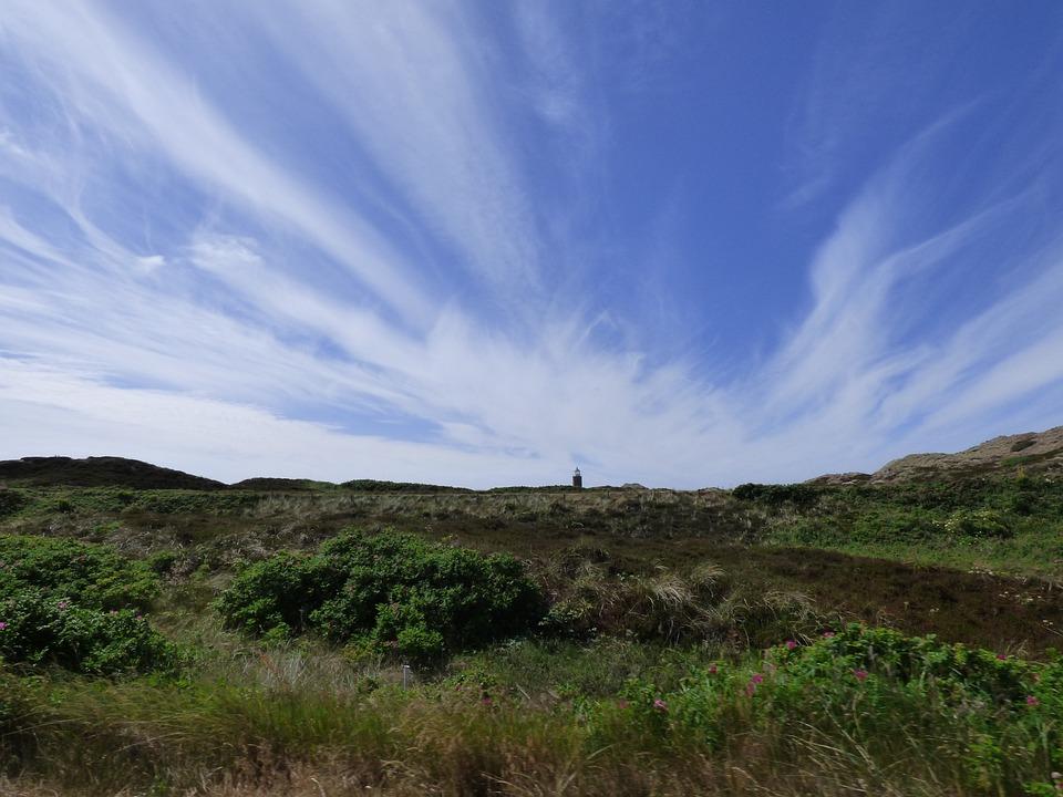 Lighthouse, Sylt, Sky, Clouds, Coast, Holiday