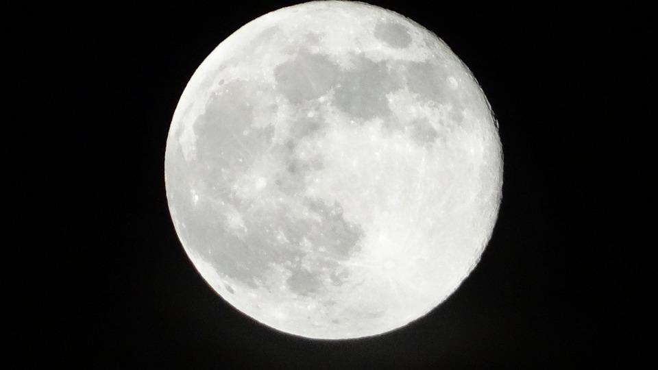 Moon, Night, Sky, Night Scene, Dark, Moonlight, Full