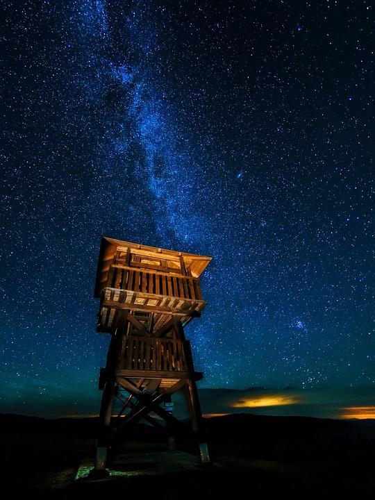 Sky, Milky, Way, Cosmos, Night, Dark, Space, Astronomy