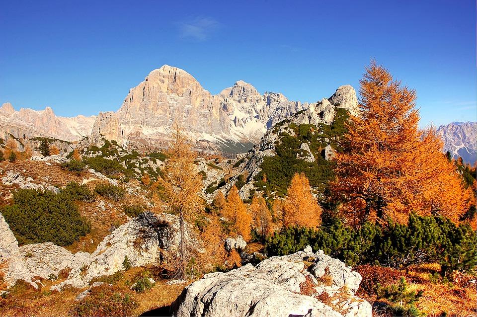 Dolomites, Tofane, Nature, Clouds, Sky, Alpine, Italy