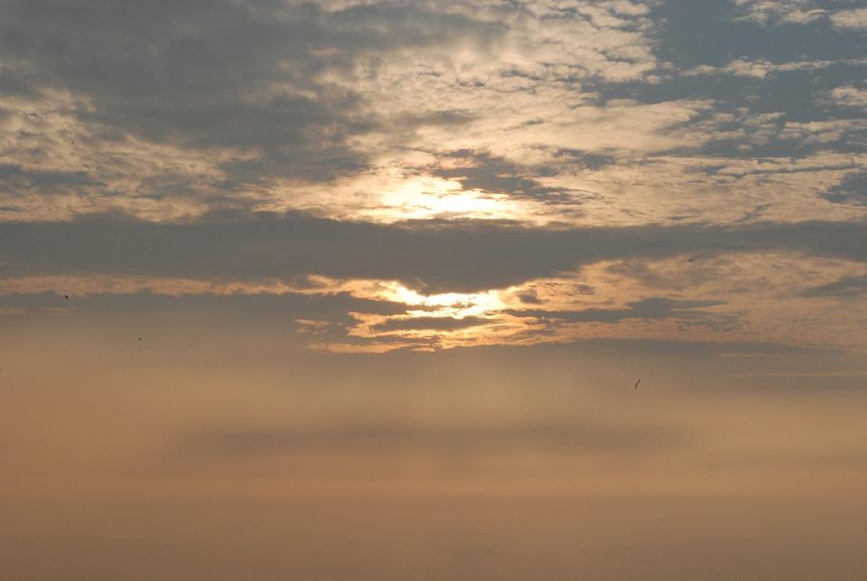 The Evening Sun, Landscape, Sky, Evening Sky