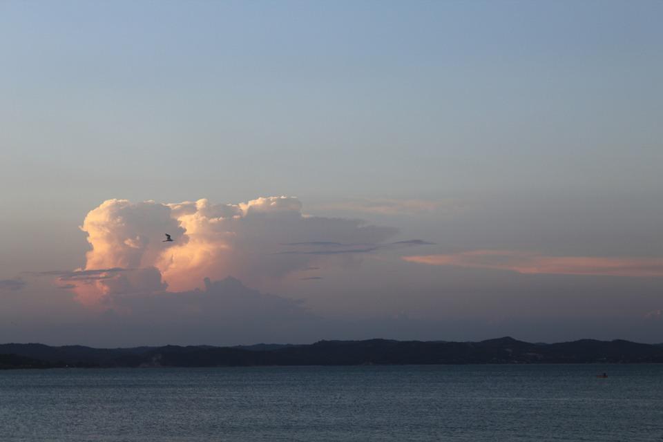 Cloud, Mar, Ocean, Sky, Fantasy, Sol, Summer, Peace