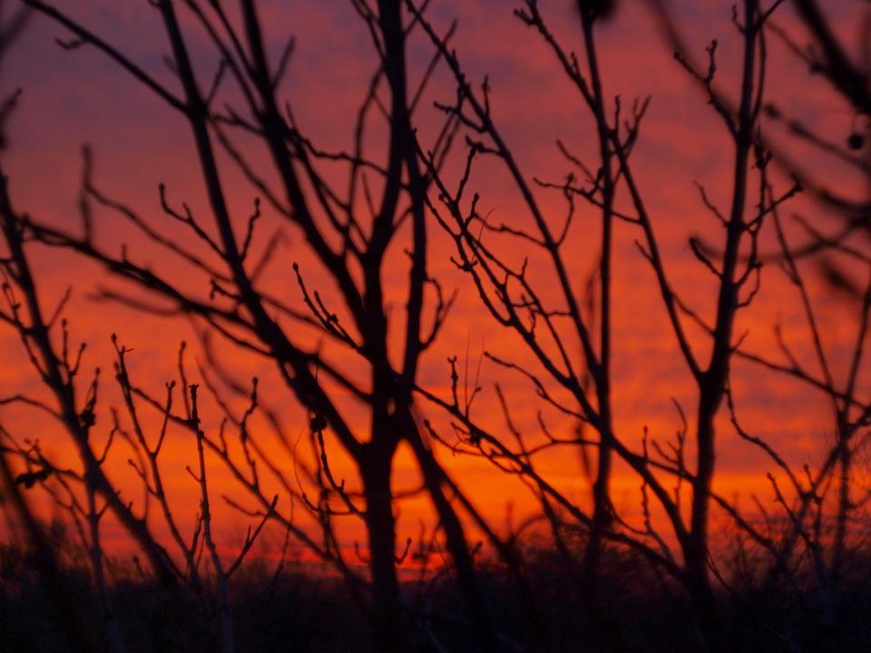 Sunset, Handsomely, Sky, Nature, Landscape, Beautiful