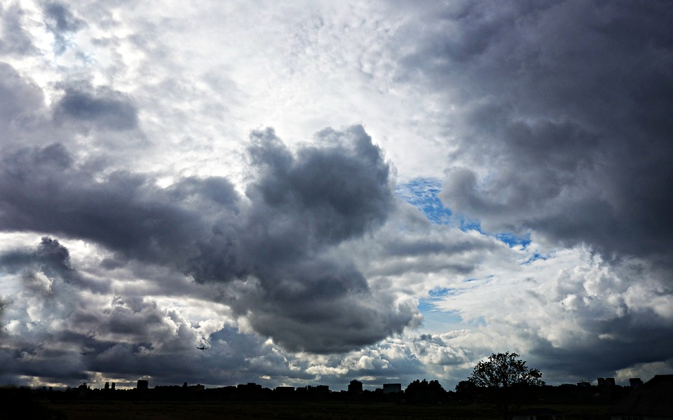 Clouds, Sky, Cumulus, Dramatic Clouds, Heavens, Skyline