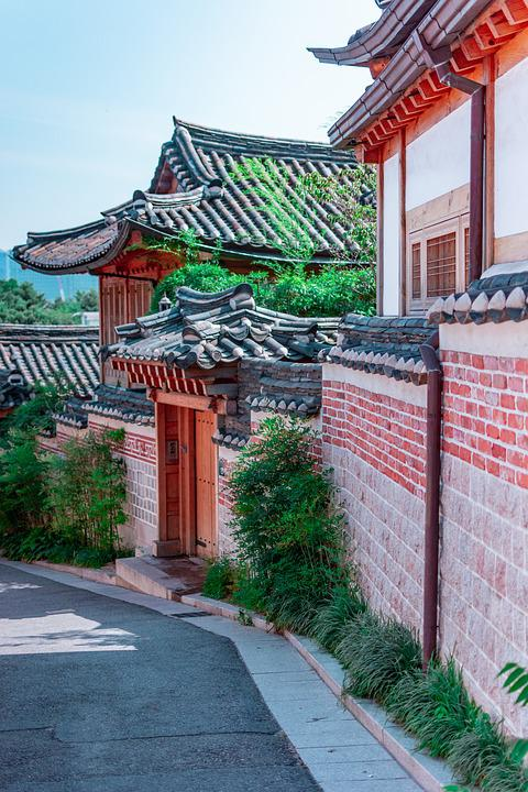 Korea, South Korea, Traditional, Sky, Heritage, Eastern