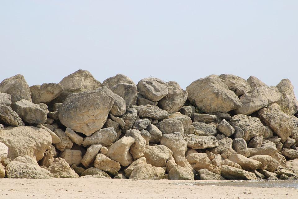 Rock, Sand, Relax, Holiday, Beach, Ocean, Sky, Nature