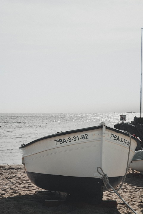 Boat, Blue, Mediterranean, Sea, Holiday, Sky, Ocean