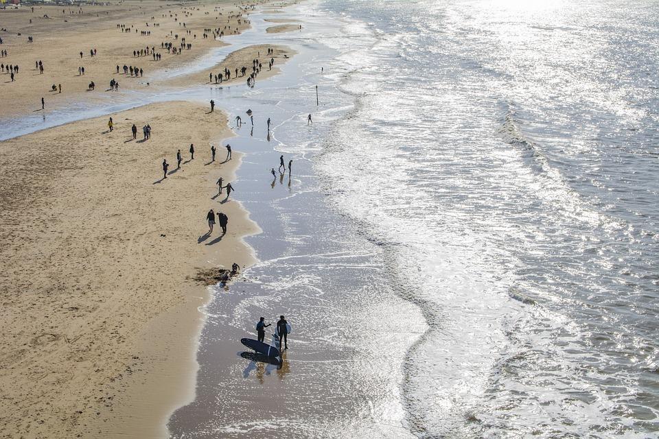 Holland, Beach, Netherlands, Water, Sky, Coast