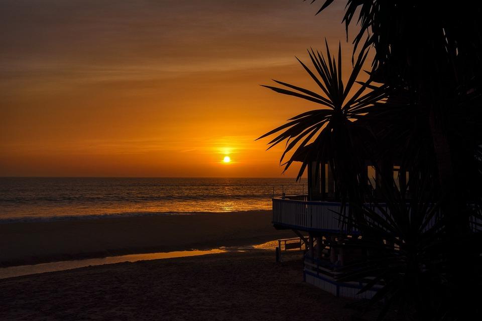 Sea, Sunset, Sky, Beach, Dusk, Horizon, Afternoon