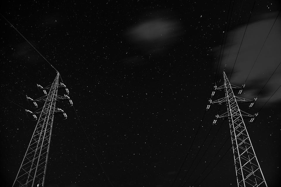 Sky, Outdoors, Construction, Stars, Metal, Industry