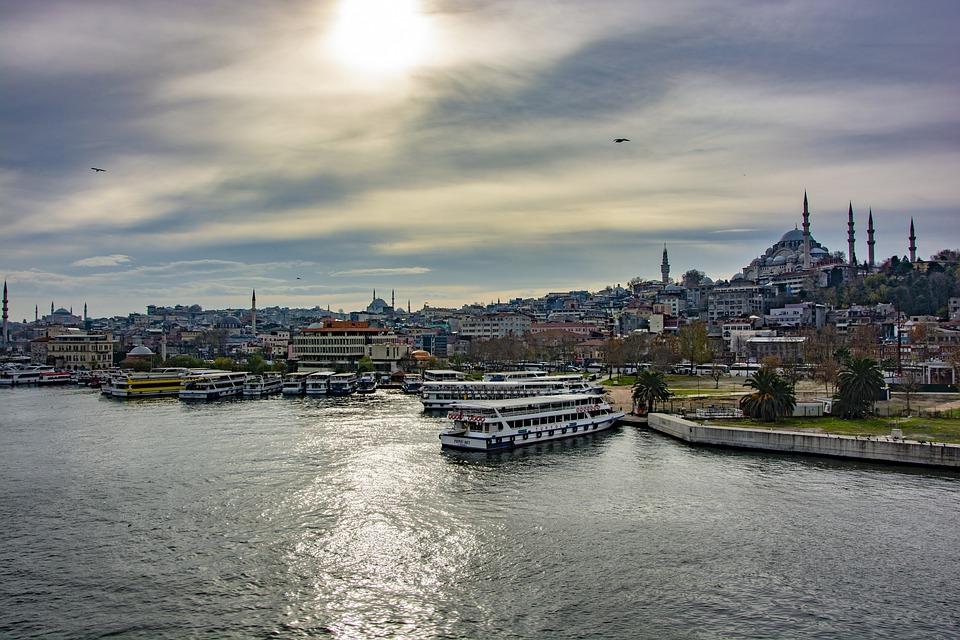 Istanbul, Landscape, Turkey, Sky, Nature, Blue
