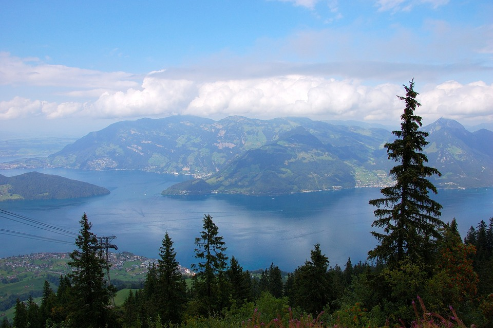 Klewenalp, Lake Lucerne Region, Mountains, Clouds, Sky
