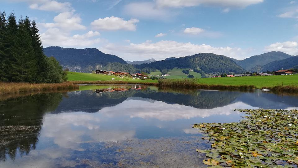 Mountains, Landscape, Lake, Nature, Alpine, Sky, Summer