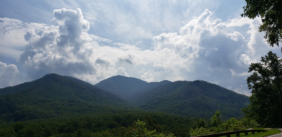 Scenic, Mountains, Landscape, Nature, Sky, Clouds