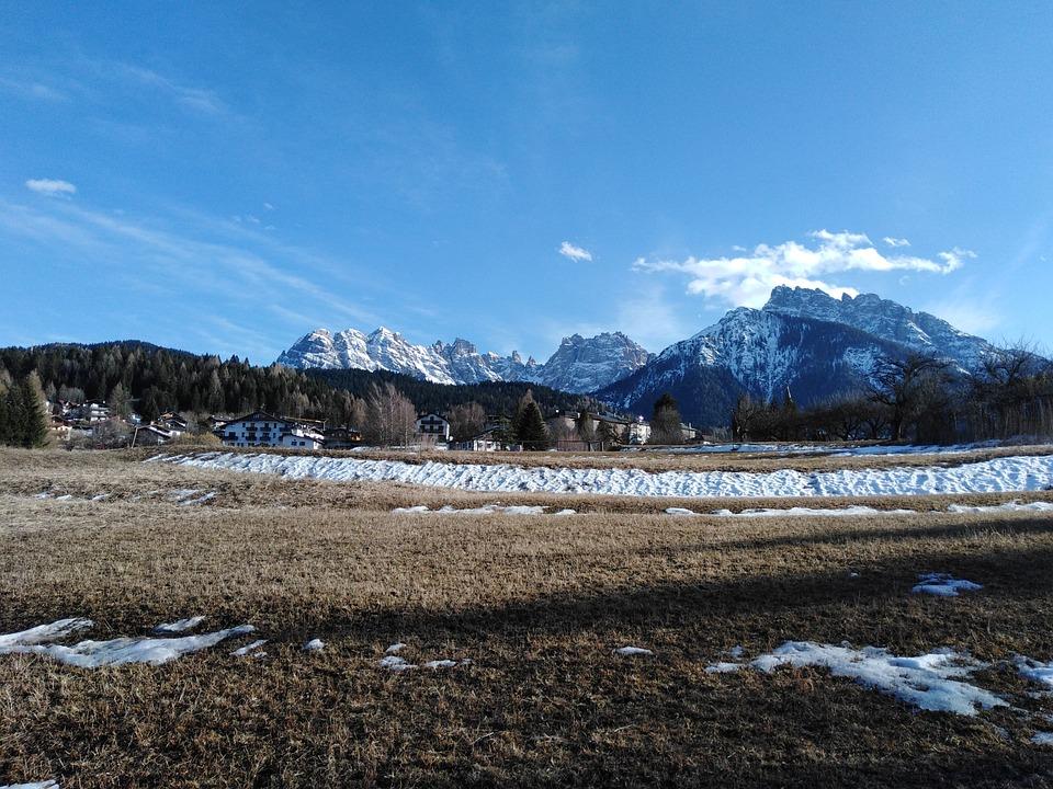 Mountain, Mountains, Nature, Landscape, Sky, Panorama