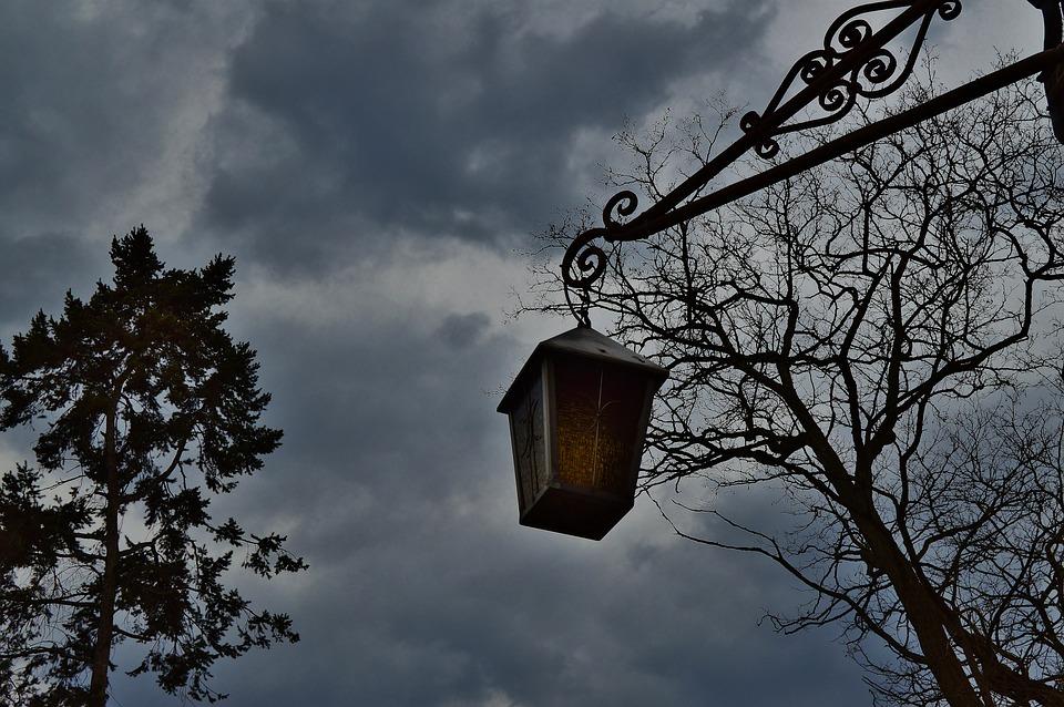 Lantern, Mystical, Esoteric, Atmospheric, Sky, Gloomy
