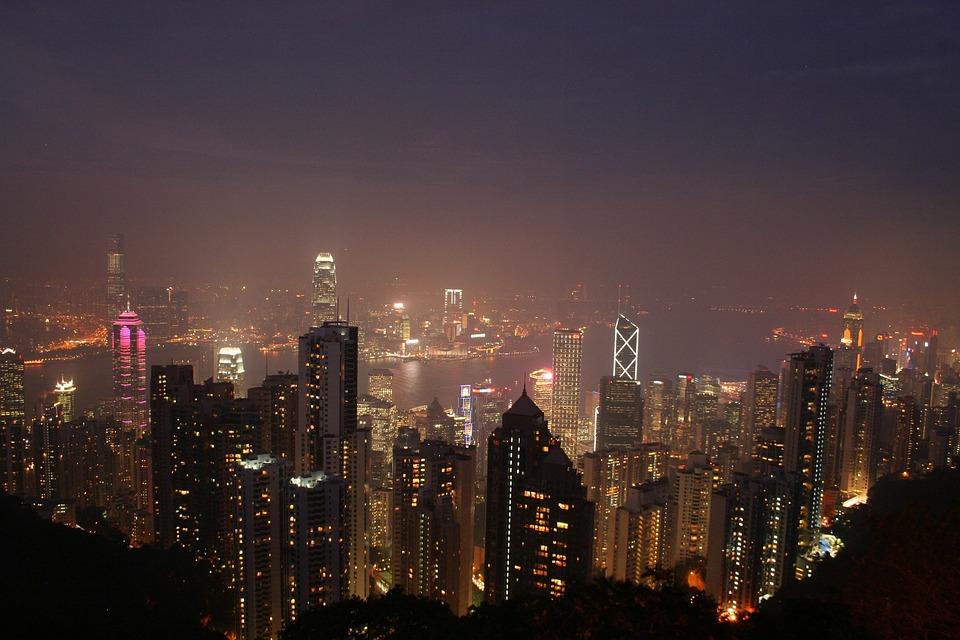Hong Kong, China, Asia, Sky Line, Cityscape, Skyline