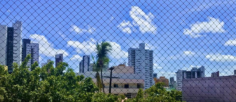 Sky, Blue, Prison, Loneliness