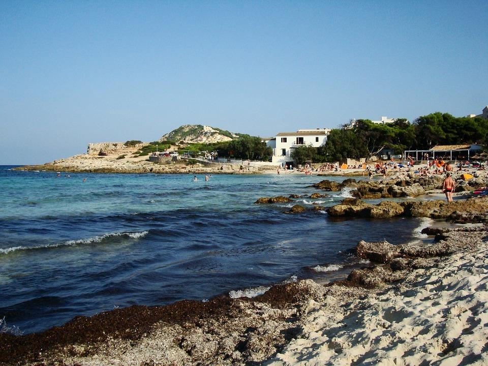 Mallorca, Holiday, Beach, Sea, Sand, Sky, Spain