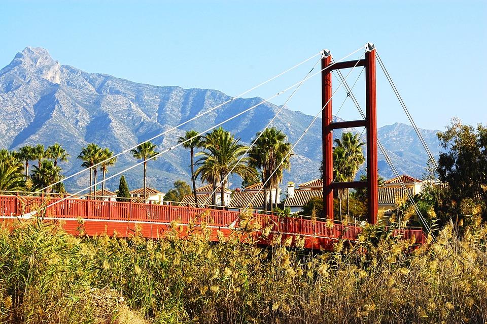 Marbella, Andalusia, Malaga, Costa Del Sol, Spain, Sky