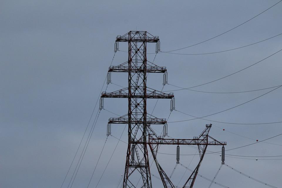 Pylon, Steel, Sky, Metal, Structure, Engineering
