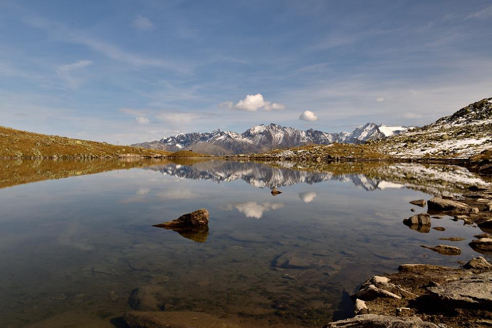 Spilsee, Landscape, Lake, Mirroring, Sky, Water