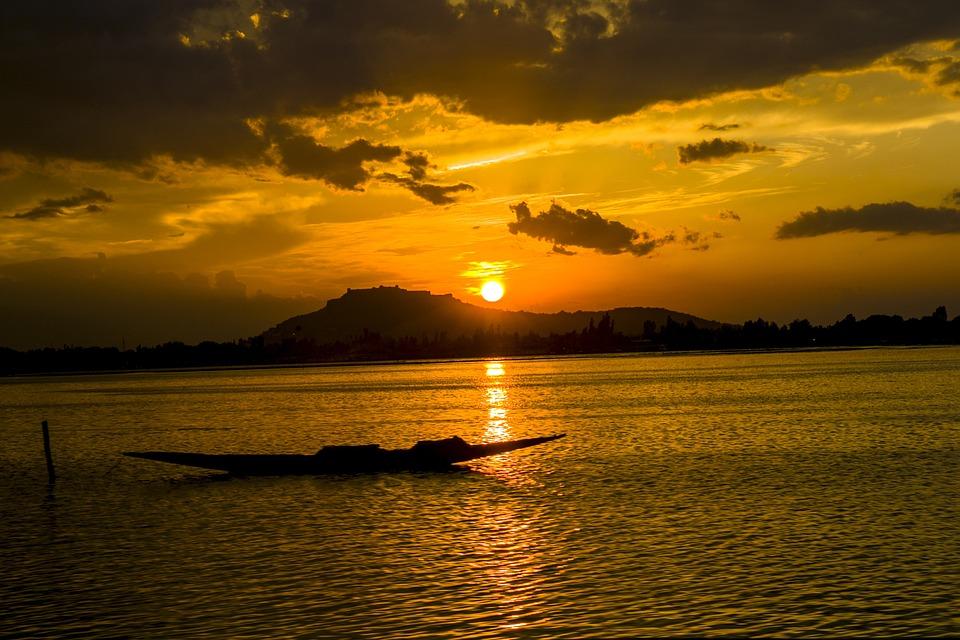 Evening, Sunset, Landscape, Sky, Dusk, Nature, Mood