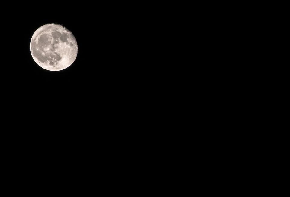Moon, Space, Earth, Astronomy, Sky, Science, Fantasy