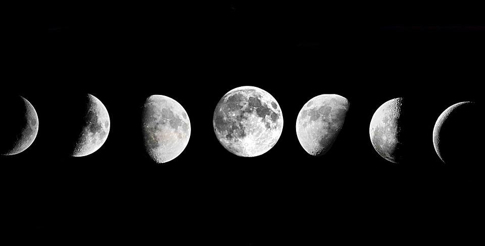 Moon, Sky, Night Sky