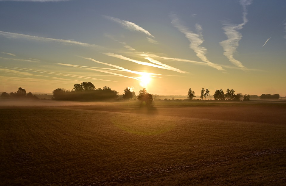 Sunrise, Morning, Landscape, Nature, Sky, Sunlight