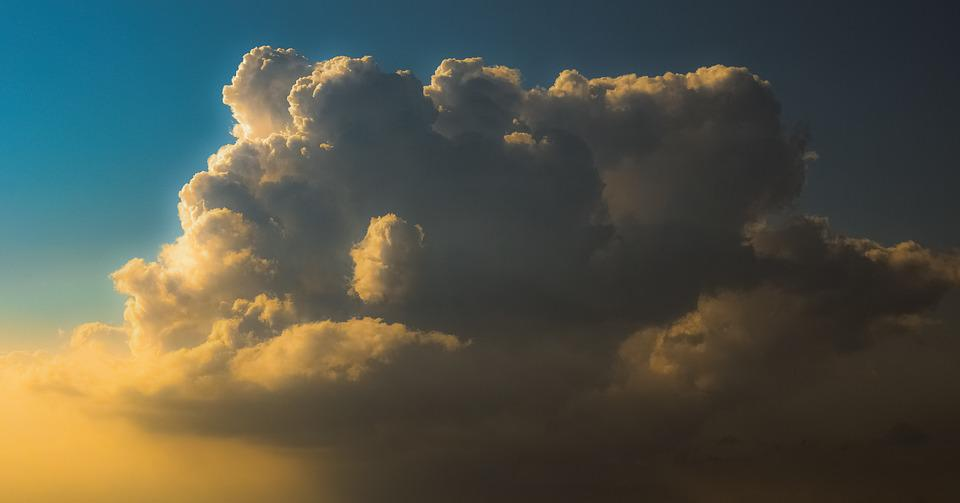 Clouds, Sky, Sunset, Nature, Atmosphere, Cumulus