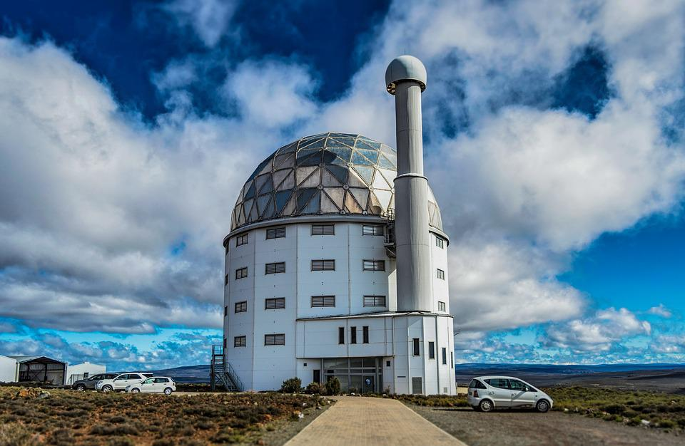 Observatory, Clouds, Sky, Nature, Science, Summit