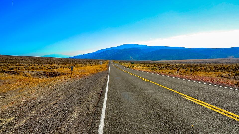 Highway, Asphalt, Nature, Empty, Travel, Sky, Landscape