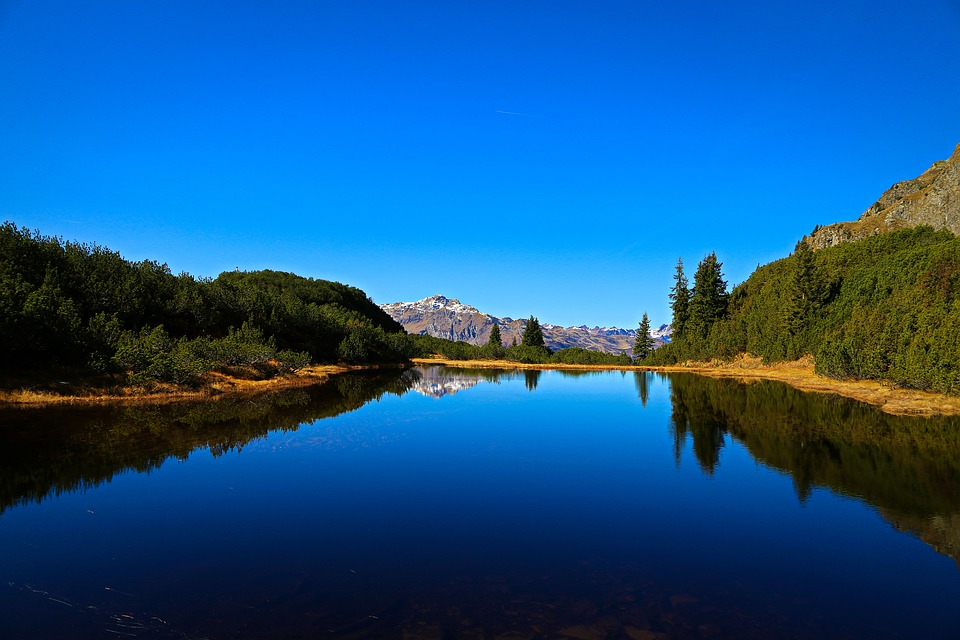 Waters, Lake, Nature, Reflection, Sky, Mountain