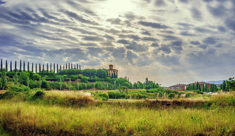 Landscape, Nature, Sky, Rural Landscape, Meadows