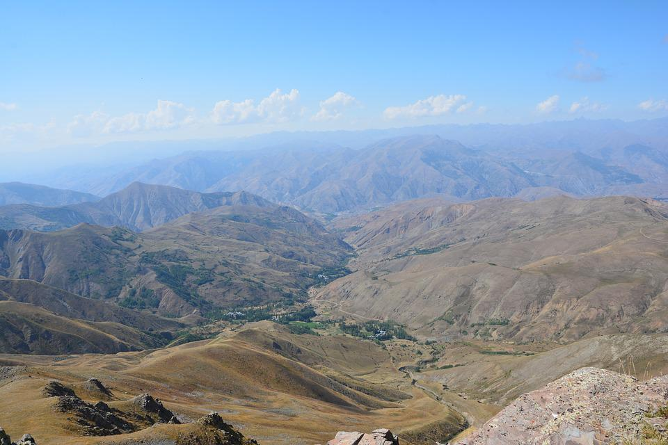 Nature, Landscape, Kaçkars, Sky, Grass, Mountain, Green