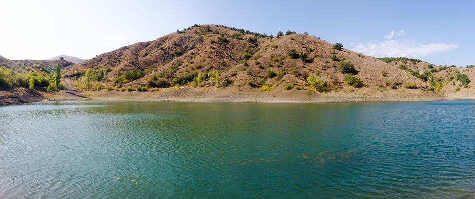 Water, Nature, Panoramic, Travel, Sky, Beach, Mountain
