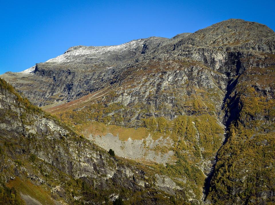 Nature, Mountain, Landscape, Sky, Cottage, Steep