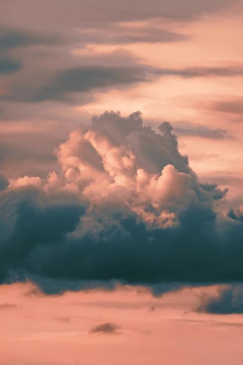 Sky, Cloud, Sunset, Clouds, Nature, Summer, Weather
