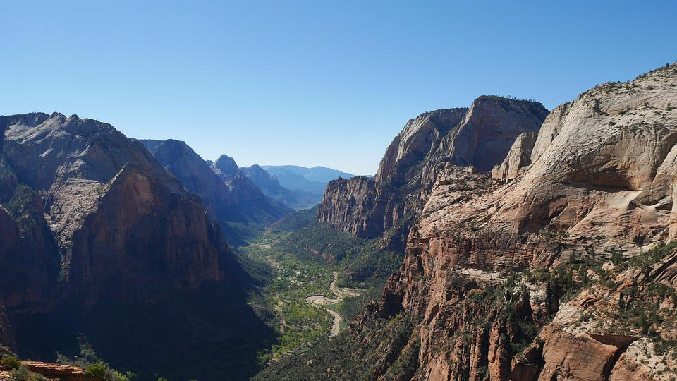 Nature, Mountain, Landscape, Panorama, Sky, Zion