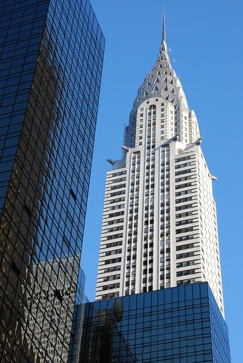 New York, Empire State Building, Skyscraper, Sky, City