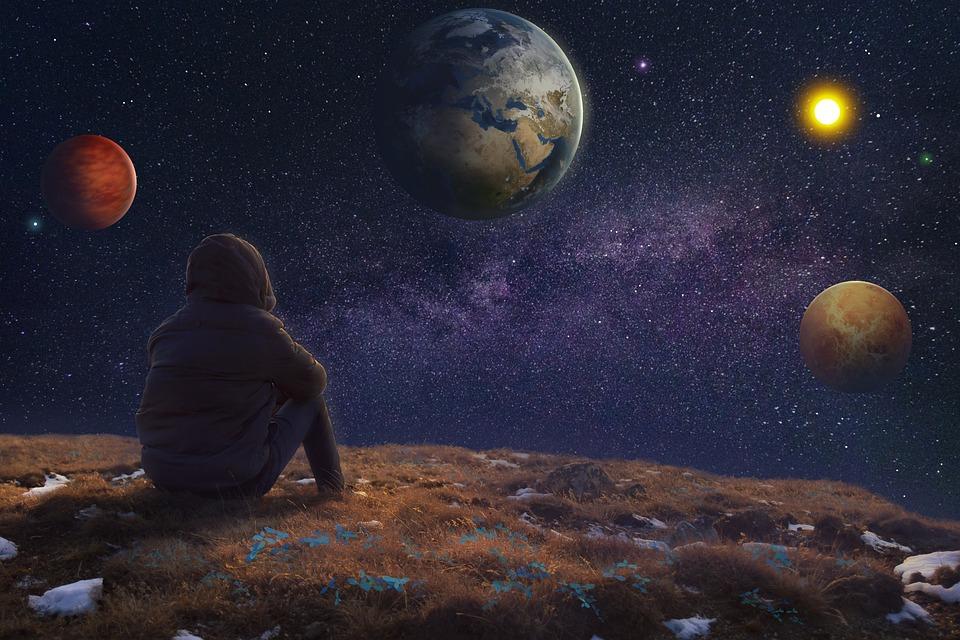Space, Galaxy, Universe, Sky, Night, Cosmos, Star