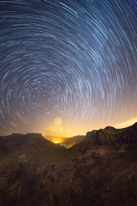 Star, Startrails, Astronomy, Night, Sky, Night Sky