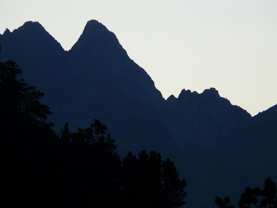 Mountains, Sky, Tree, Panorama, Wide, Hiking, More