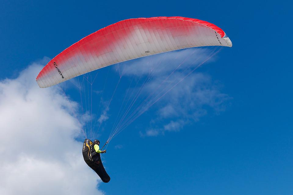 Paragliding, Air, Sky, Paraglider, Adventure