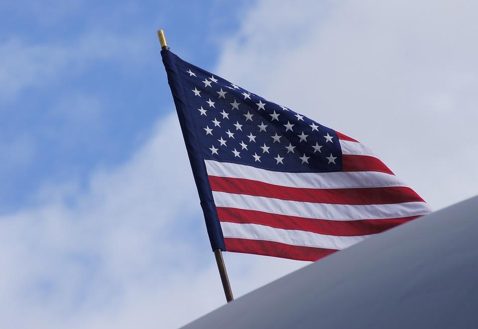 Flag, Sky, Patriotism