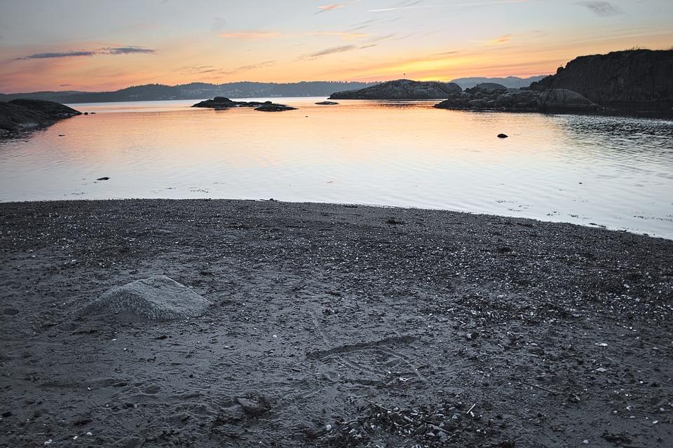 Sea, Nature, Landscape, Sky, Sand, Peace Of Mind
