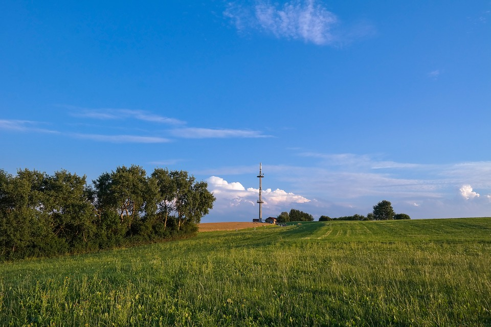 Radio Mast, Transmission Tower, Transmitter, Sky